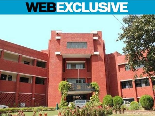 Students of Indian Institute of Mass Communication (IIMC), New Delhi have complained of caste discrimination on the campus.