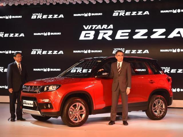 Maruti Suzuki's Vitara Brezza.