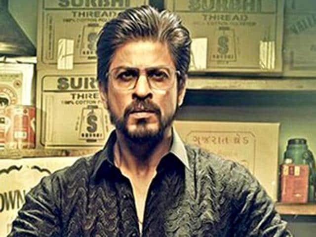 Shah Rukh Khan in a still from Raees.