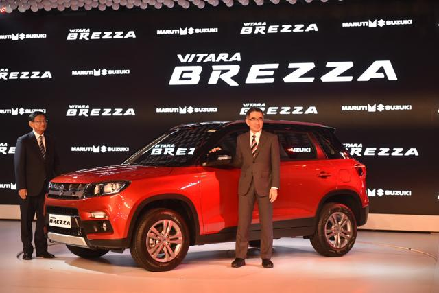 Brezza is Maruti's first real shot at the SUV market, though of the smaller kind