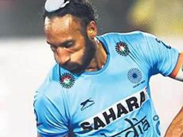 Indian hockey captain Sardar Singh