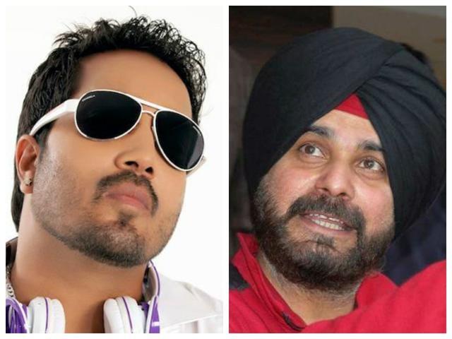 Mika Singh,Navjot Singh Sidhu,Comedy Night With Kapil