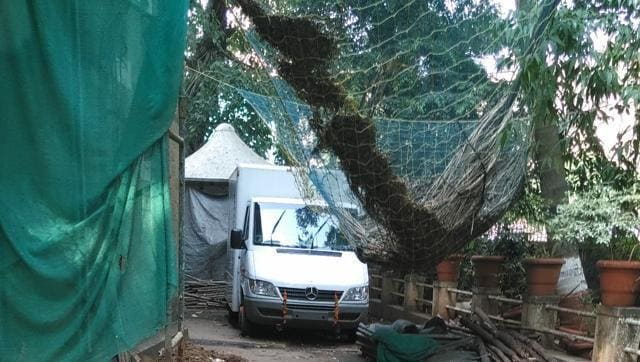 A mobile explosives detection van, which cost the city police around Rs7 crore in 2008, has been lying unused for several years at the compound of the office of the Commissioner of Police at Crawford Market