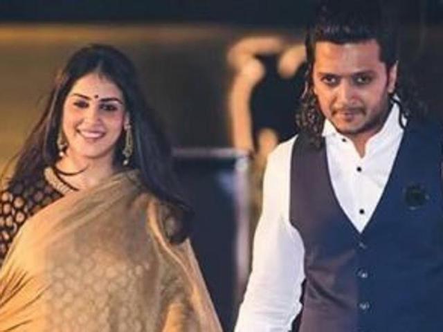 Cute couple Genelia-Ritesh celebrate their fourth anniversary