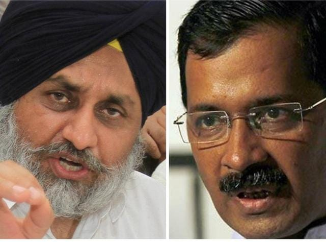 """Sukhbir also hit out at the AAP and its leader, Delhi CM Arvind Kejriwal, saying that there was """"a need to understand Kejriwal's personality""""."""