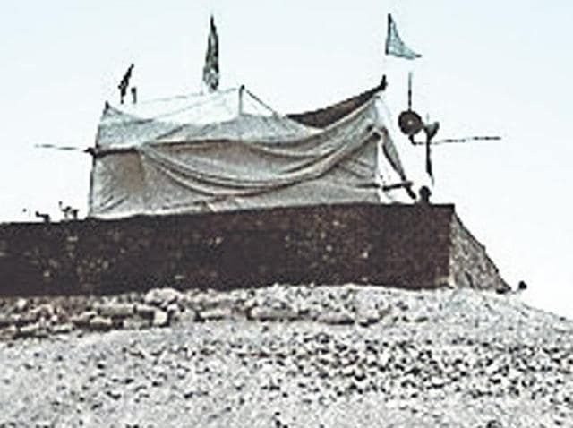 File photo of the makeshift Ram temple in Ayodhya