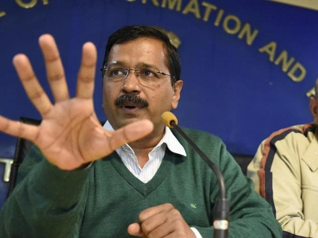 Delhi chief minister Arvind Kejriwal has blamed BJP for the  indefinite strike by Municipal Corporation of Delhi (MCD) workers  in the capital.