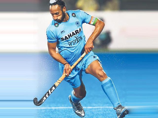 Indian hockey skipper Sardar Singh.