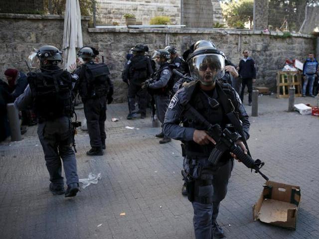Jerusalem,Stabbing,Israeli police officer dead
