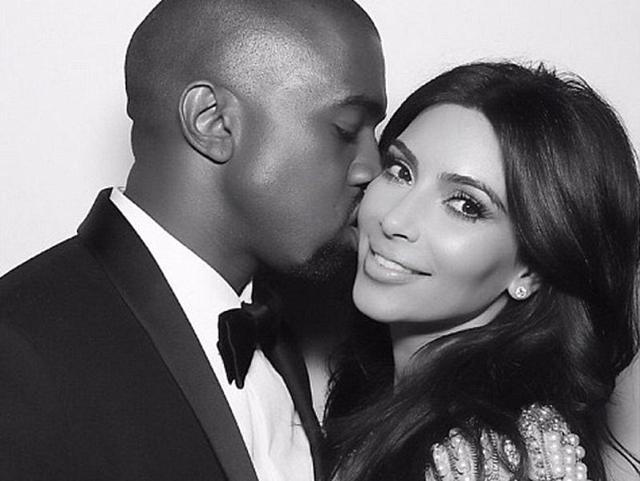Kanye West is going to have an eventful Valentine's Day, thanks to wifey Kim Kardashian.