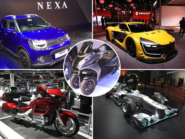 Day 2 of the Delhi Auto Expo was about concepts, commercial vehicles and hybrid buses.