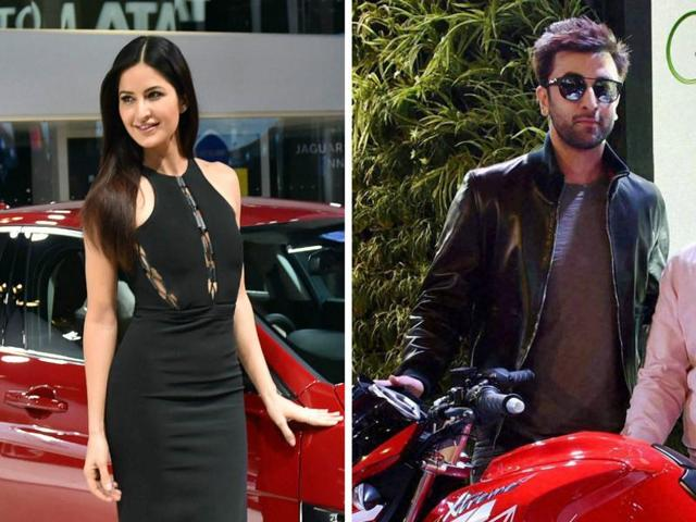 Katrina Kaif and Ranbir Kapoor were at Auto Expo on Wednesday but made sure their paths didn't cross.