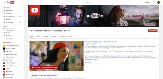 Youtube,Red,Originals