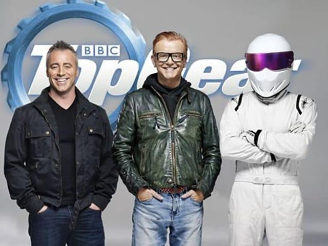 Friends actor Matt LeBlanc to present Top Gear with Chris Evans (c).