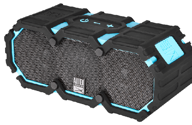 The Altec Lansing Lifejacket 2 speakers work despite being thrown about and immersed in water