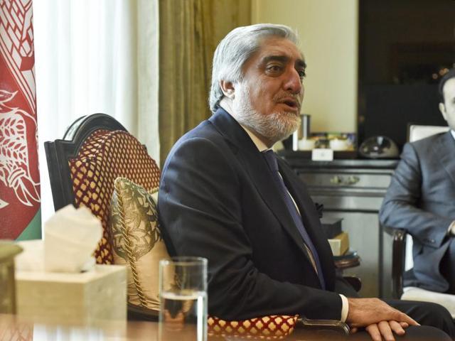 Afghanistan peace process,Abdullah Abdullah,Taliban