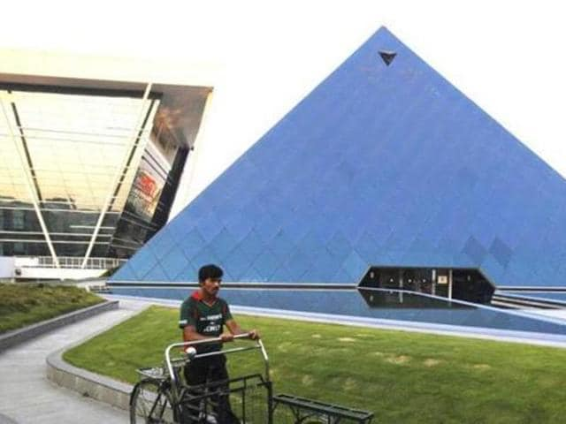 Infosys campus at Electronics City in Bangalore. India's technology capital has two sides: A prosperous, globalised Bangalore and its uneasy underbelly, Bengaluru. (Reuters File Photo)