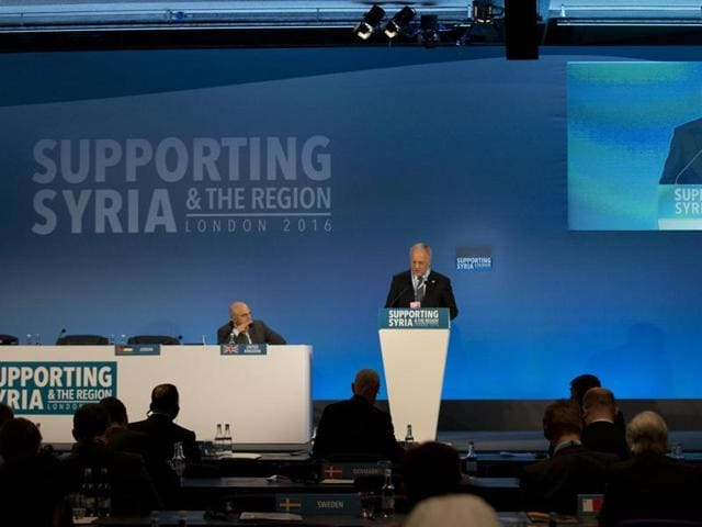 'Supporting Syria and the Region'