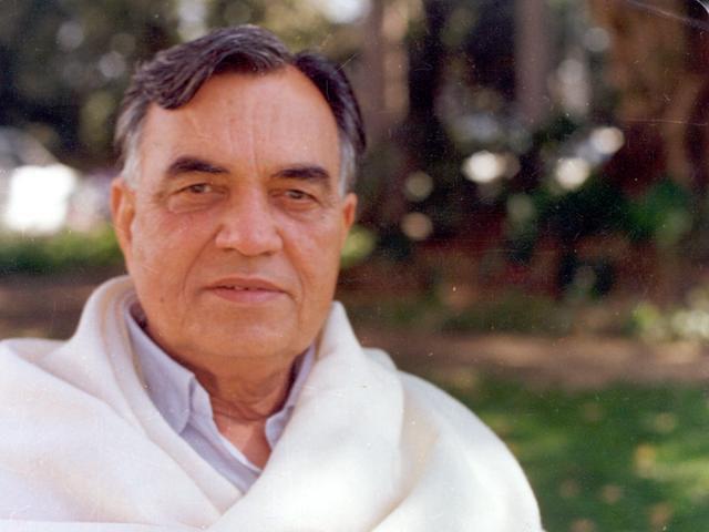 Former Madhya Pradesh governor Balram Jakhar.