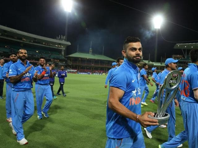 The selectors named the T20 squad for the three-match series against Sri Lanka only on Monday, and hardly any major change is expected from that side.