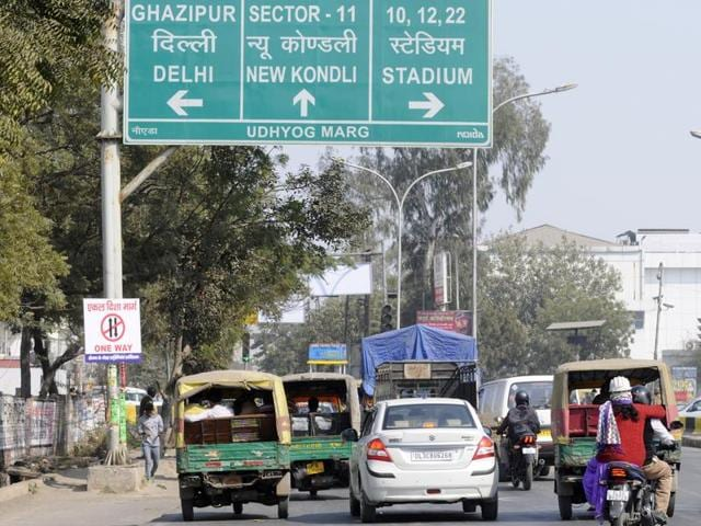 Police have made some adjustments to the duration of traffic signals at Udyog Marg in Noida.