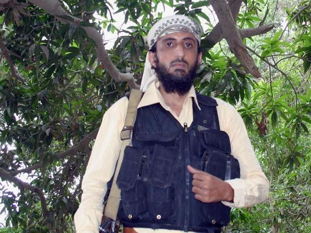 Jalal Belaidi, alias Abu Hamza, a top commander of al Qaeda in the Arabian Peninsula (AQAP), was killed along with two guards when their vehicle was hit in the Maraqesha area of Abyan province, a relative said.