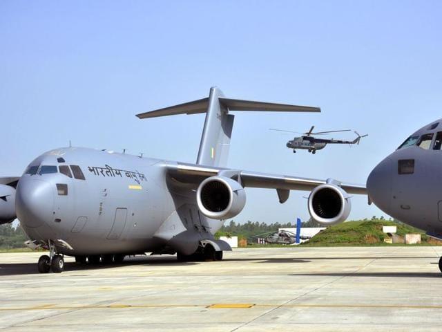 Air force authorities shut down two Kendriya Vidyalayas on the premises as a precautionary measure.(HT File Photo)