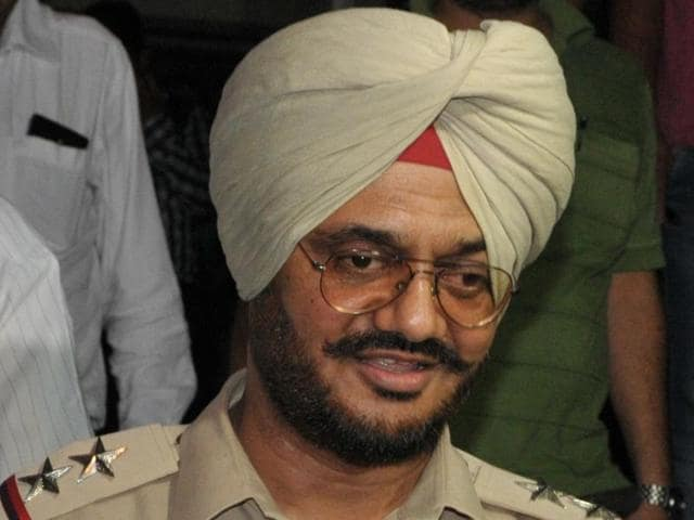 The suspended sub-inspector Surinder Bhardwaj