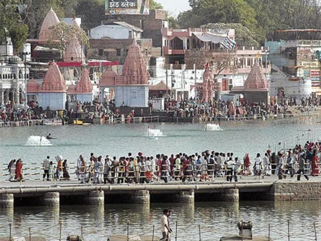 The Ujjain Simhastha is a mass Hindu pilgrimage and one of the fairs recognised as Kumbh Mela.