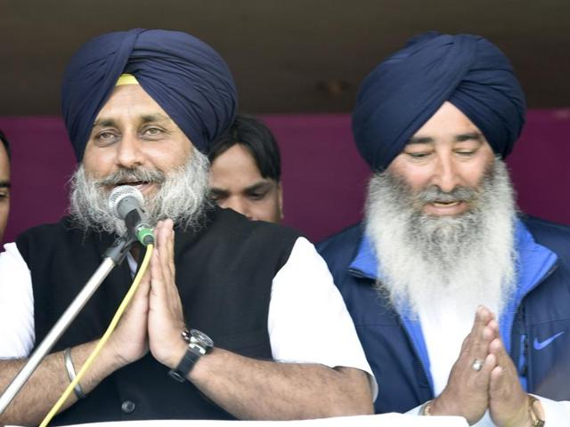 Khadoor Sahib bypoll: Sukhbir hits out at absent Cong, AAP