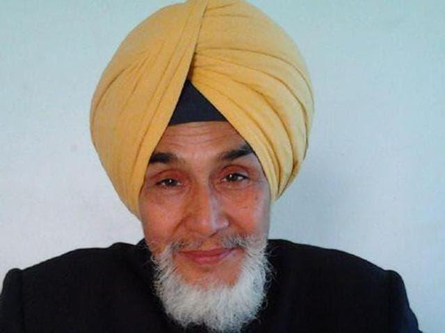AAP Punjab convener Sucha Singh Chhotepur.