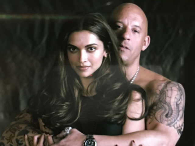 Deepika Padukone's xXx look: Vin Diesel shares first day shooting pics