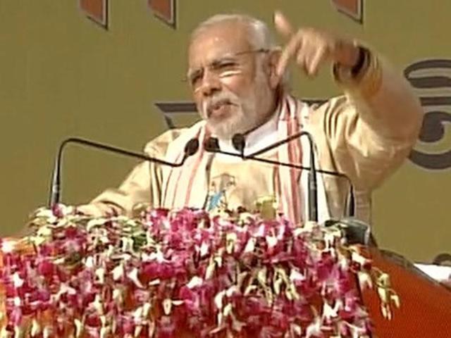Modi, Gogoi take poll rivalry to project inauguration in Assam