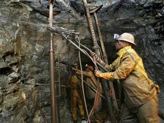 South Africa gold mine