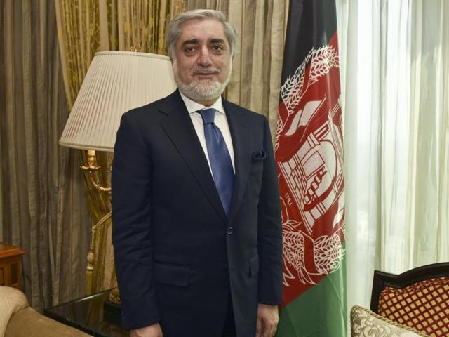 Chief Executive Officer of Afghanistan Abdullah Abdullah during an interaction with Hindustan Times in New Delhi  on Thursday, February 4, 2016.