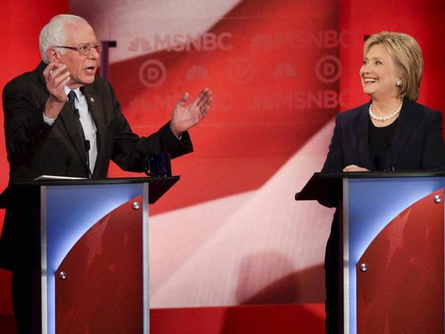 The Durham debate was the first faceoff for Clinton and Sanders since former Maryland Gov. Martin O'Malley dropped out of the race after a poor showing in Iowa.