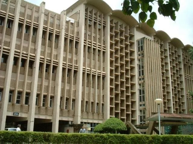 File photo of IIT Bombay building.