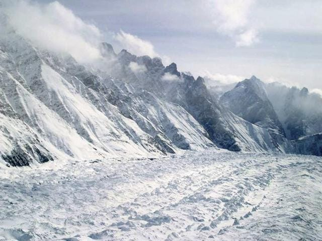 The Siachen Glacier is the world's highest battlefield
