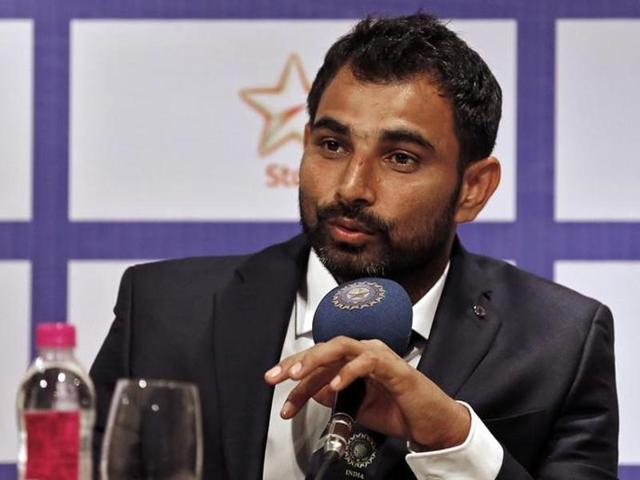 File photo of Indian cricketer Mohammed Shami .
