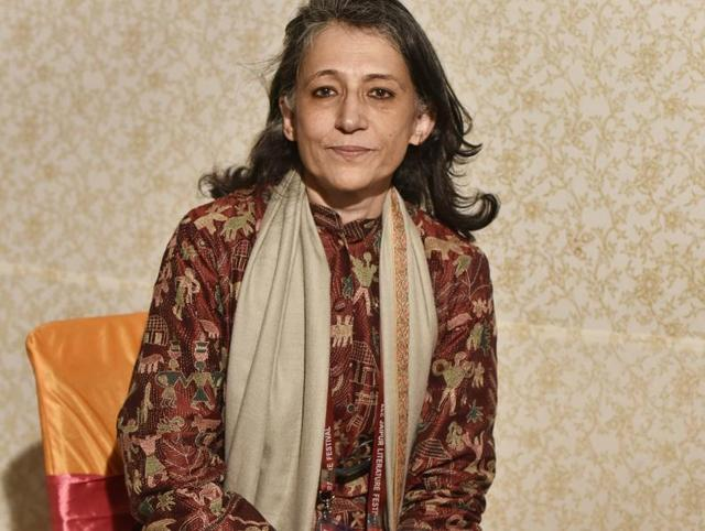 Ayesha Jalal at Jaipur literary festival 2016, in Jaipur, India on January 23, 2016. (Photo by Sanjeev Verma/ Hindustan Times)