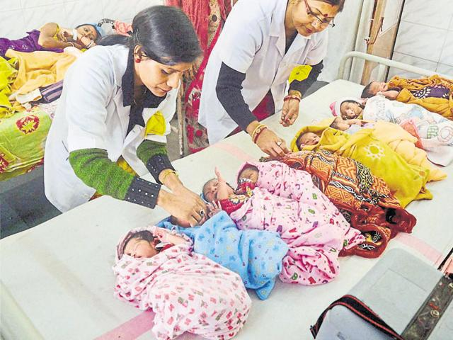 One of the key objectives of India's Universal Immunisation Programme is the rapid increase of immunisation coverage through equitable and efficient services.