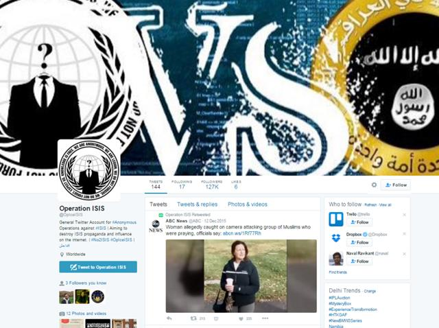 Hacker-collective, Anonymous under Operation ISIS,  also help Twitter identify ISIS-affiliated groups so that they can be suspended.