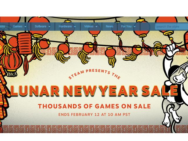 Steam announces its first Lunar New Year Sale with a vast array of discounts on popular titles like Tomb Raider, XCOM, GTA V and more