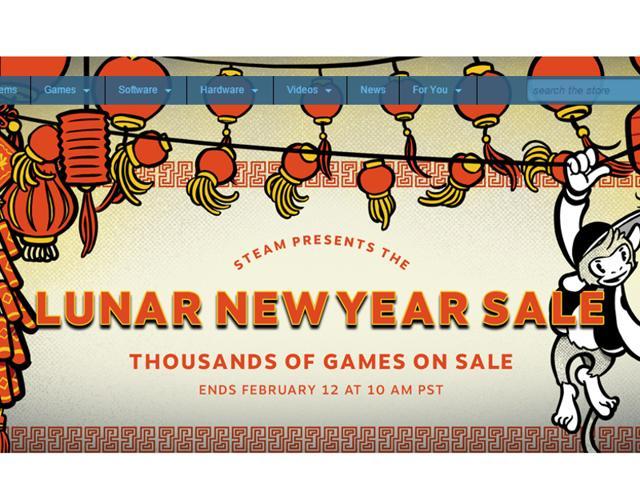 Steam,Lunar New year sale,fallout