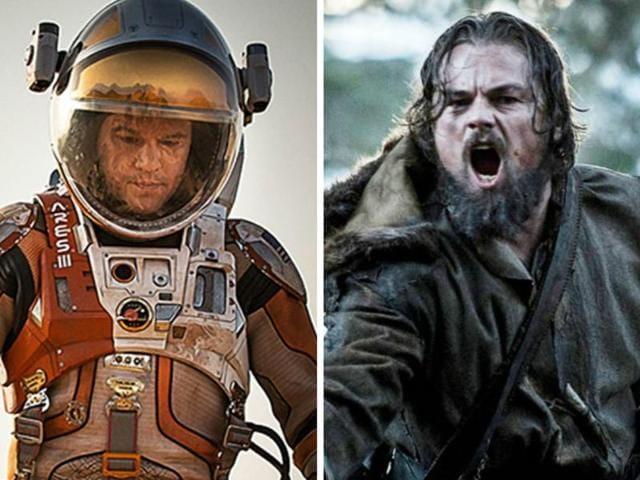 Matt Damon,Leonardo DiCaprio,The Martian