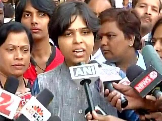 "After an hour-long dialogue, the campaign leader Trupti Desai of the Bhumata Brigade said the meeting was ""positive"" and looked forward to a decision to break the centuries-old gender discrimination at the famous shrine."