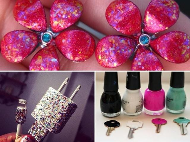 Everyday hacks: Seven really clever ways to use nail paint | fashion ...