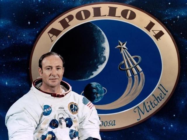 Apollo 14,Moon,Edgar Mitchell