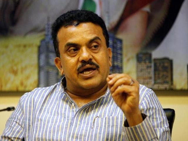 File photo of Mumbai Congress chief Sanjay Nirupam during press conference  in Mumbai.