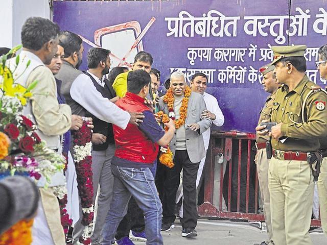 Babu Singh Kushwaha,family welfare minister,Mayawati-led BSP government